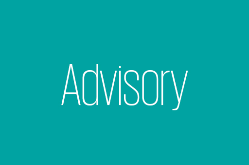 Tätigkeiten im Advisory