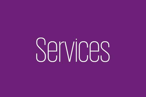 Tätigkeiten im Central Services